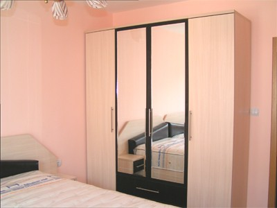 Wardrobe with four positions.