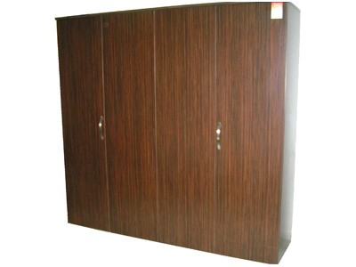 Wardrobe with four sliding doors.