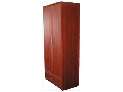 Wardrobe with two doors.